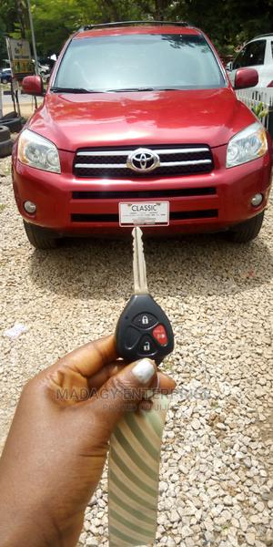 Toyota RAV4 2008 Red   Cars for sale in Abuja (FCT) State, Central Business District