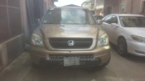Honda Pilot 2004 EX 4x4 (3.5L 6cyl 5A) Gold | Cars for sale in Lagos State, Isolo