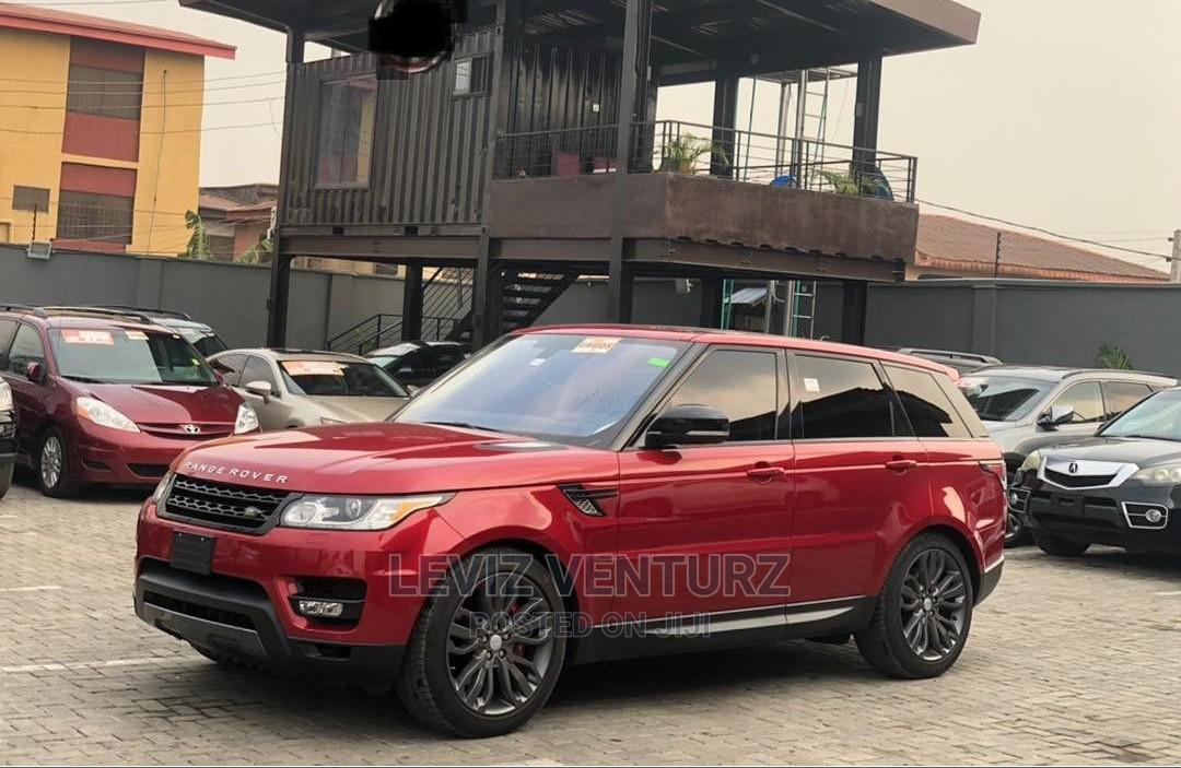 Archive: Land Rover Range Rover Sport 2016 Red