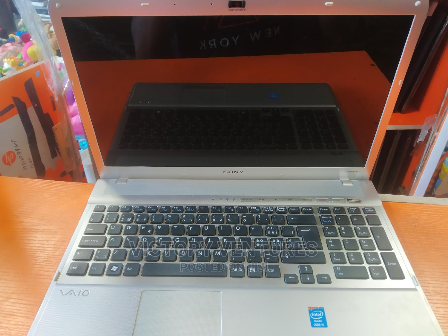 Laptop Sony VAIO E14135 8GB Intel Core I5 HDD 500GB | Laptops & Computers for sale in Surulere, Lagos State, Nigeria