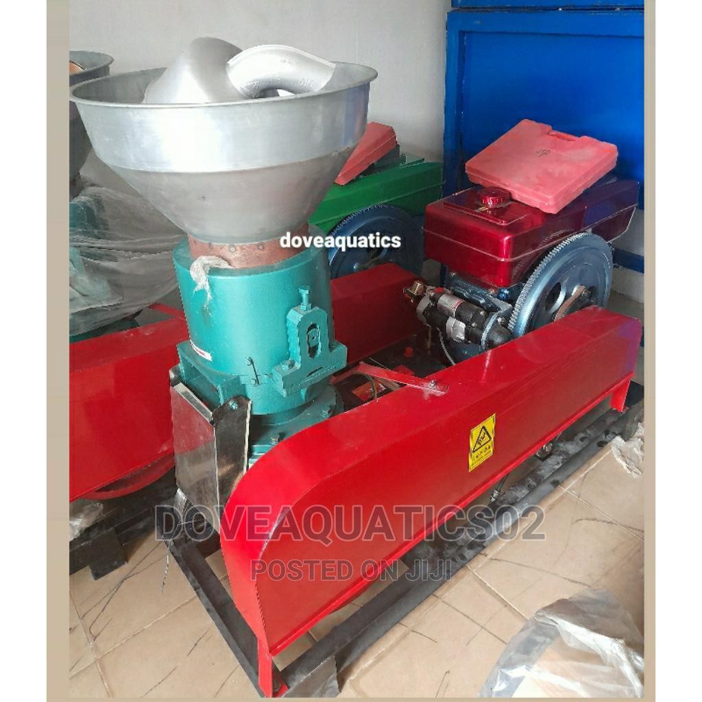 500kg/Hr Diesel Powered Pelleting Machine
