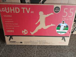 LG Uhd Smart TV 55 Inches at a Promo Price | TV & DVD Equipment for sale in Delta State, Oshimili South
