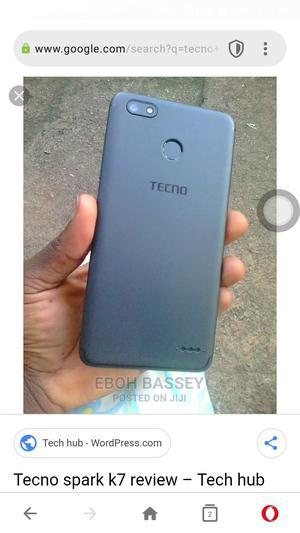 New Tecno Spark K7 16 GB Black   Mobile Phones for sale in Ebonyi State, Afikpo North