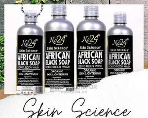 Organic Skin Lightening African Black Soap Liquid Body Wash   Bath & Body for sale in Lagos State, Ajah