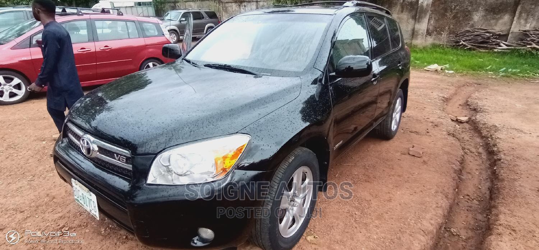 Toyota RAV4 2008 Limited V6 Black | Cars for sale in Gwarinpa, Abuja (FCT) State, Nigeria
