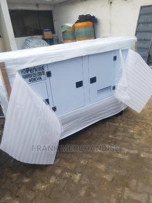 New One 40KVA Perkins Soundproof Diesel Generator | Electrical Equipment for sale in Lagos State, Magodo