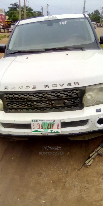 Land Rover Range Rover Sport 2006 White