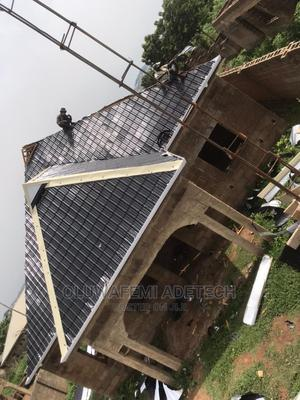 Aluminum Step Tiles Roofing Sheets 0 . 5 5 | Building Materials for sale in Ogun State, Remo North