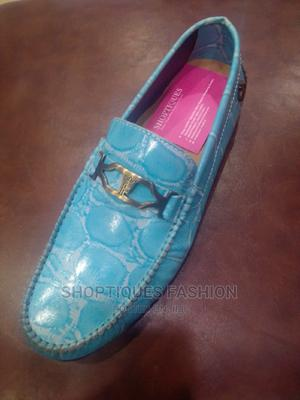 Blue Italian Men Loafers Shoes   Shoes for sale in Lagos State, Surulere