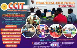 Practical Computer Training at 81, Bode Thomas, Surulere | Computer & IT Services for sale in Lagos State, Surulere