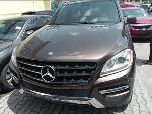 Mercedes-Benz M Class 2012 Brown | Cars for sale in Lagos State, Surulere