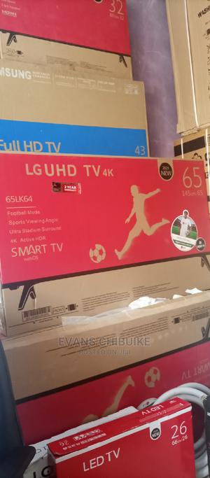 Brand New LG 65 Inches Smart TV With Inbuilt Netflix | TV & DVD Equipment for sale in Lagos State, Ojo