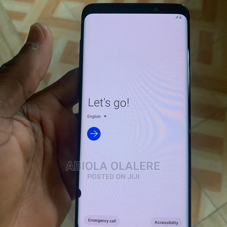 Samsung Galaxy S9 Plus 64 GB Black   Mobile Phones for sale in Yaba, Lagos State, Nigeria