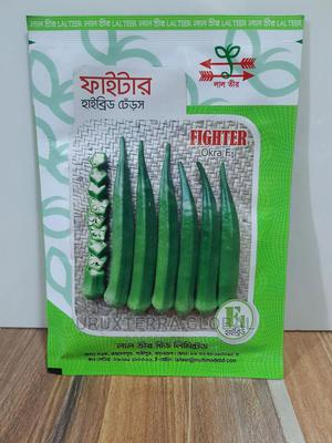 Lal Teer Fighter F1 Hybrid Okra Seeds | Feeds, Supplements & Seeds for sale in Lagos State, Ikeja