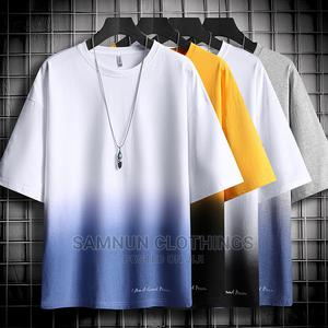 Classic Summer Short Sleeve Mens T-Shirt   Clothing for sale in Lagos State, Abule Egba