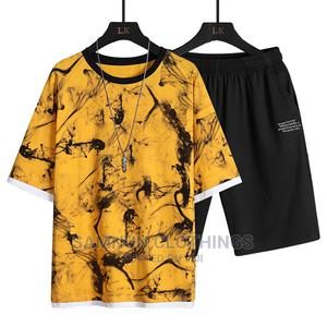 Luxury Summer Mens T-Shirt and Short   Clothing for sale in Lagos State, Abule Egba