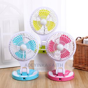 Rechargeable Fan With Led Light | Home Appliances for sale in Osun State, Olorunda-Osun