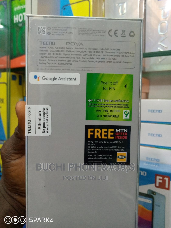 New Tecno Pova LD7 128 GB Blue | Mobile Phones for sale in Ikeja, Lagos State, Nigeria