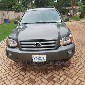 Toyota Highlander 2005 Limited V6 Green | Cars for sale in Anambra State, Orumba
