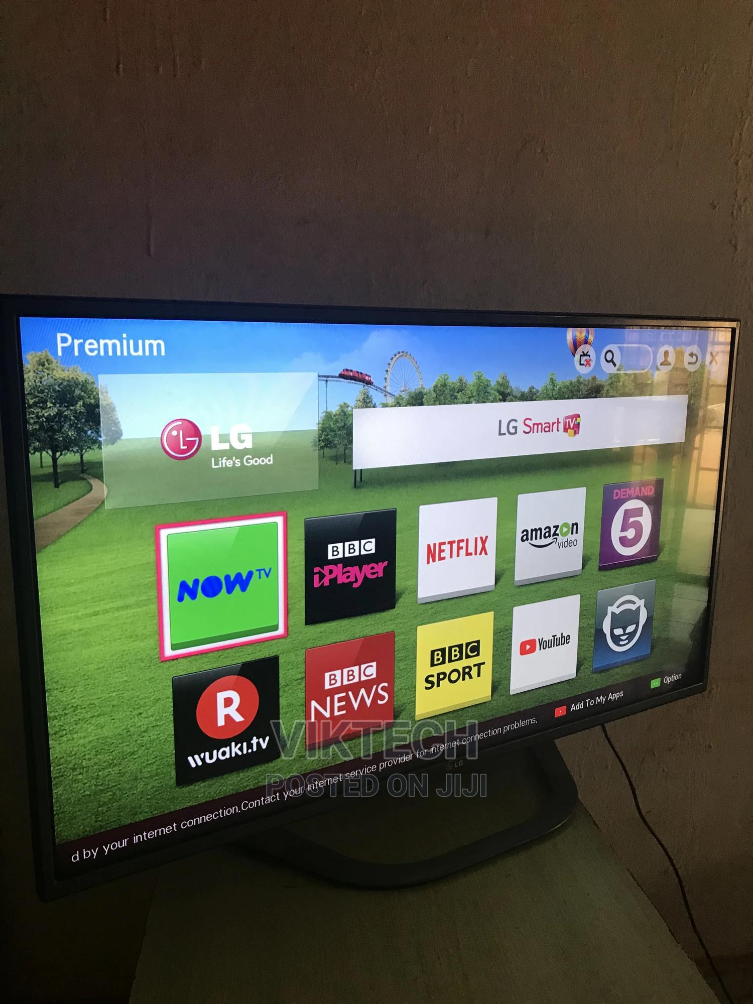 43 Inches Original LG 4K Smart Tv. With Guarantee.   TV & DVD Equipment for sale in Gwarinpa, Abuja (FCT) State, Nigeria