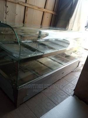 Bain Marie With Curved Glass | Restaurant & Catering Equipment for sale in Lagos State, Ojo