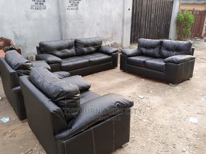 Full 7 Seater Leather Living Room Sofa | Furniture for sale in Lagos State, Ikeja