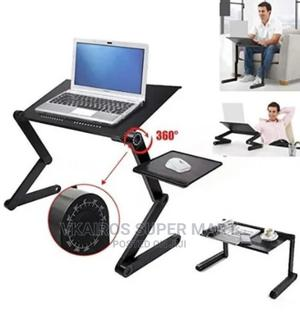 Adjustable Laptop Table With Mouse Pad and Cooler Fan | Furniture for sale in Lagos State, Surulere
