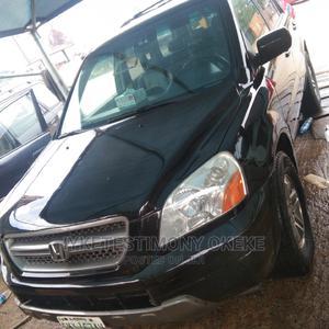 Honda Pilot 2003 EX-L 4x4 (3.5L 6cyl 5A) Black | Cars for sale in Abuja (FCT) State, Kubwa