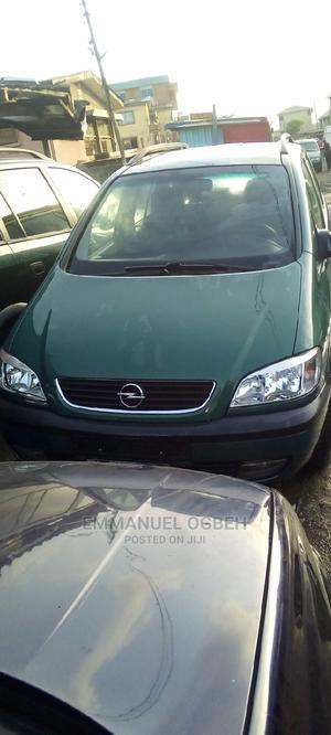 Opel Zafira 2005 1.8 Green   Cars for sale in Lagos State, Apapa