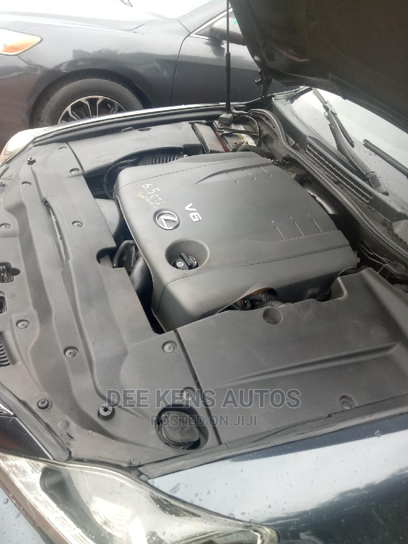Lexus IS 2010 250 AWD Automatic Black | Cars for sale in Benin City, Edo State, Nigeria