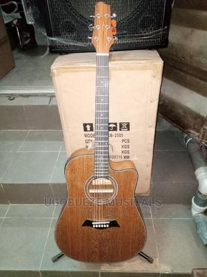 Smiger Semi Acoustic Guitar | Musical Instruments & Gear for sale in Lagos State, Ojo