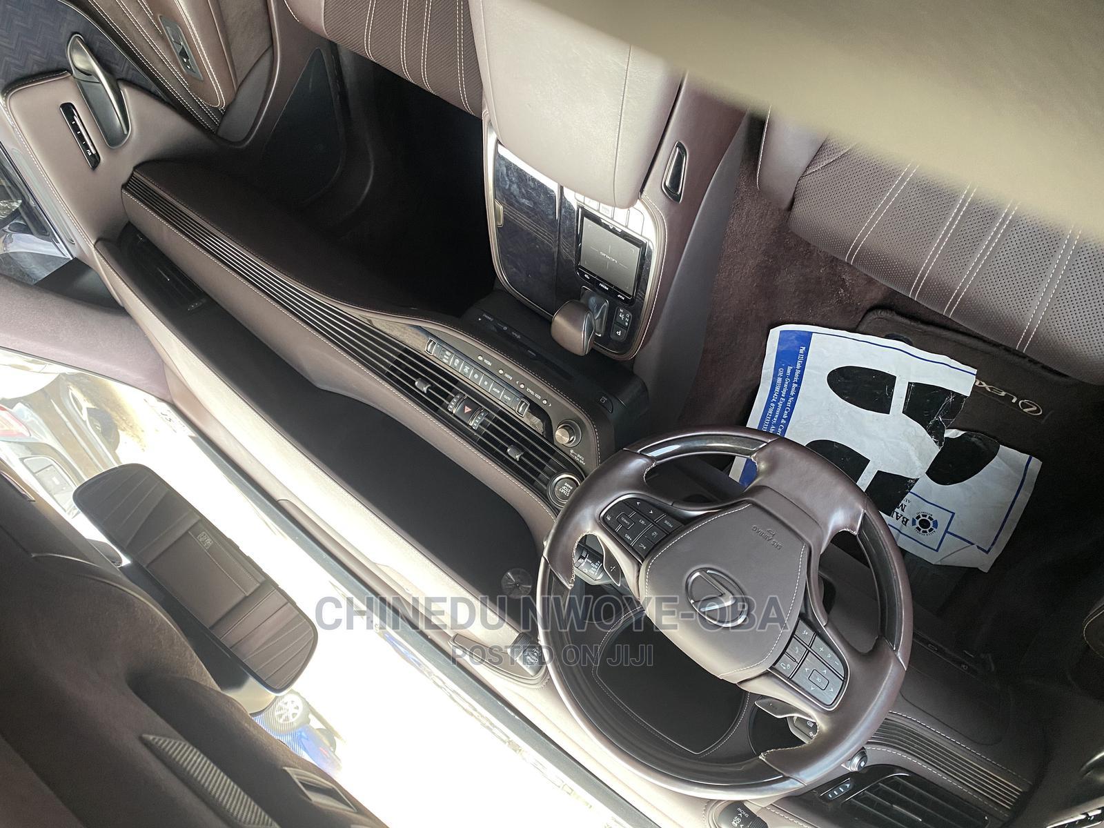 Lexus LS 2018 Blue | Cars for sale in Jahi, Abuja (FCT) State, Nigeria