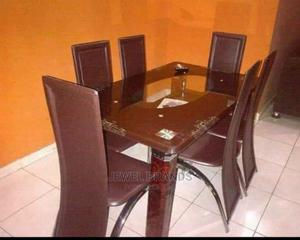 Dinning Table With 6 Chairs | Furniture for sale in Rivers State, Port-Harcourt