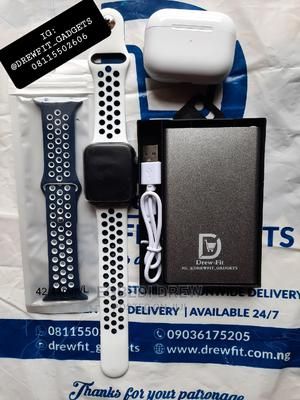 Series 6 PRO + 20,000mah Powerbank +Airpod PRO +Extra Strap | Smart Watches & Trackers for sale in Oyo State, Ibadan