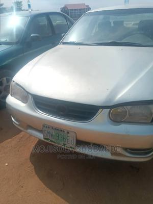 Toyota Corolla 2002 1.6 Sedan Silver | Cars for sale in Lagos State, Ikeja