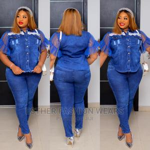 Quality Turkey Female Up and Down Jeans Trouser | Clothing for sale in Lagos State, Ikeja