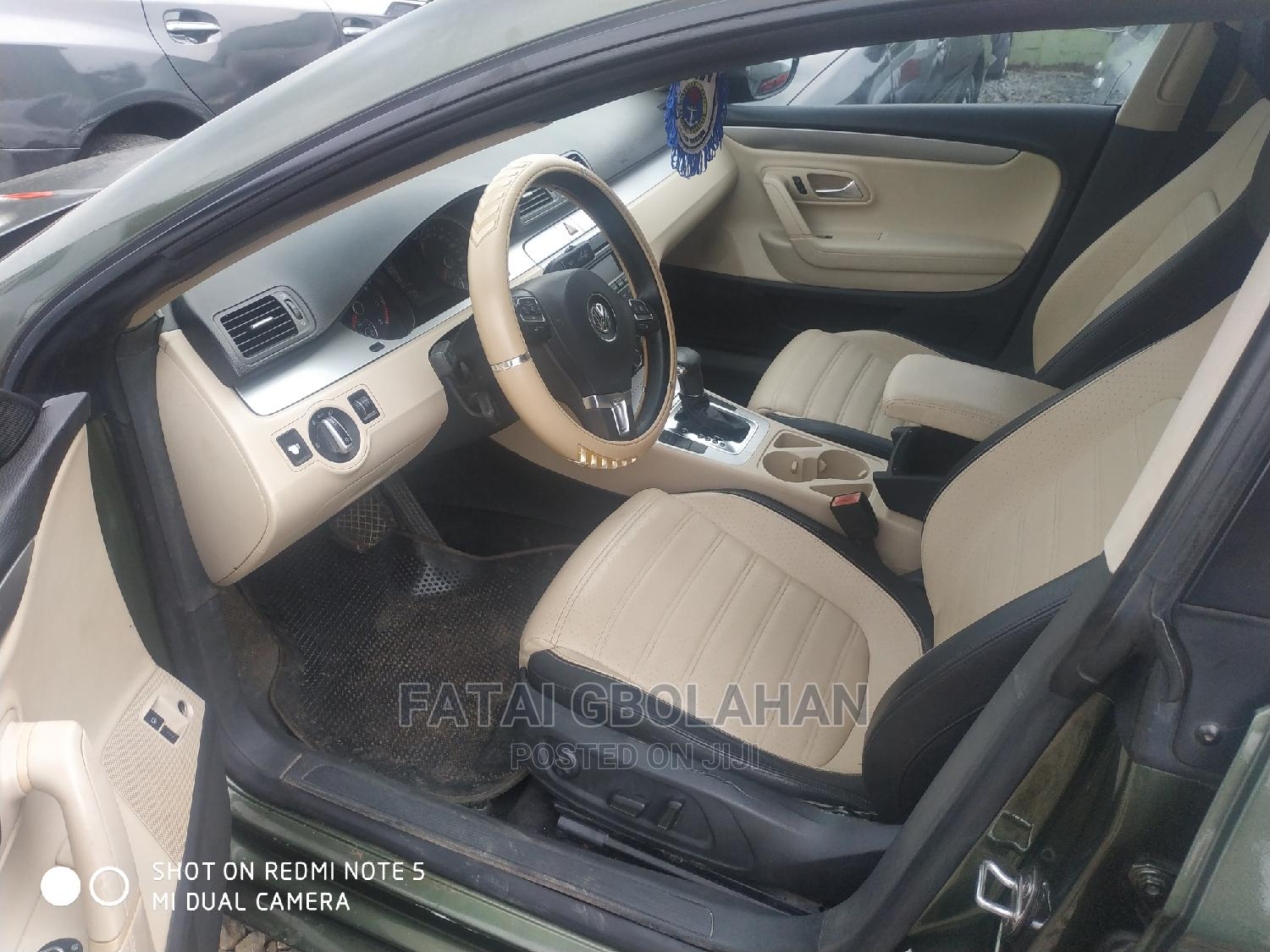 Volkswagen CC 2009 Green | Cars for sale in Agege, Lagos State, Nigeria