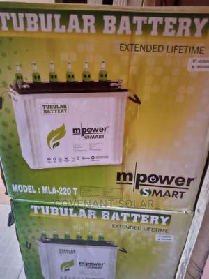 Brand New M Power Tubular Battery 220ahs | Solar Energy for sale in Lagos State, Amuwo-Odofin