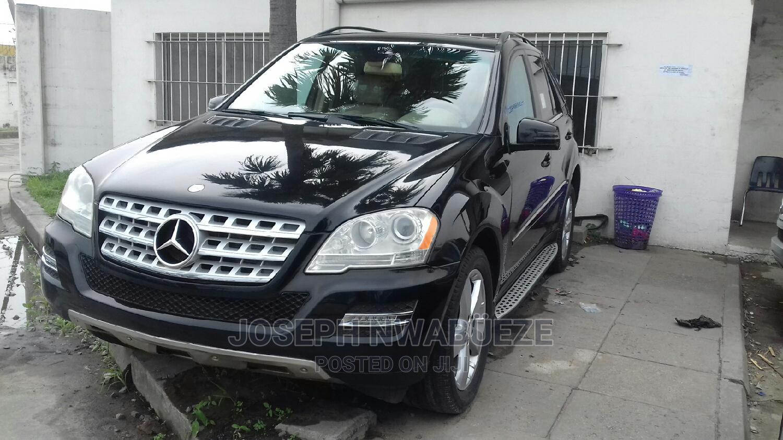 Mercedes-Benz M Class 2010 ML 350 4Matic Black   Cars for sale in Amuwo-Odofin, Lagos State, Nigeria