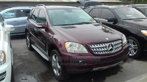 Mercedes-Benz M Class 2008 ML 350 4Matic Red | Cars for sale in Lagos State, Amuwo-Odofin
