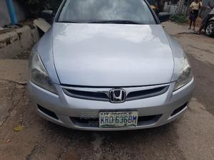 Honda Accord 2006 2.0 Comfort Automatic Silver   Cars for sale in Lagos State, Surulere
