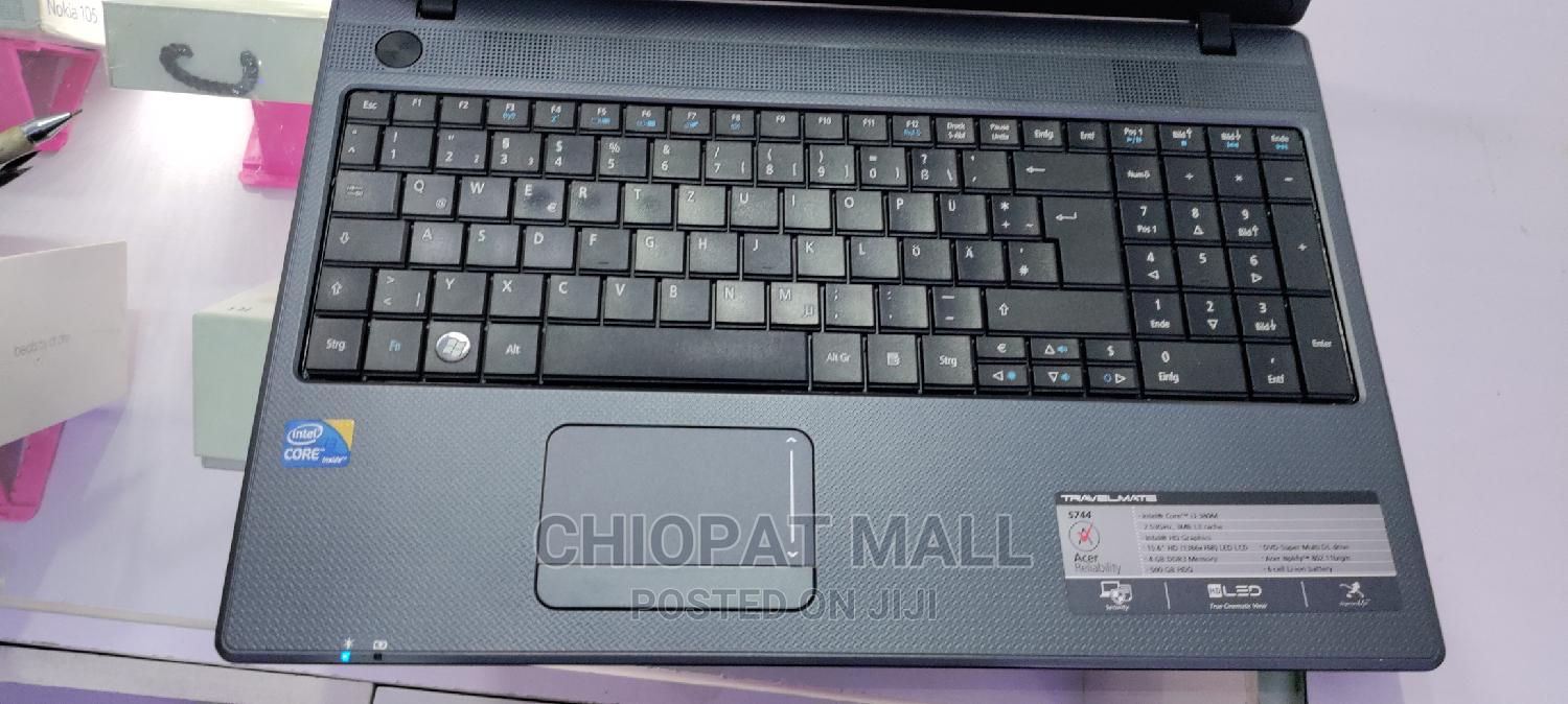 Archive: Laptop Acer TravelMate 5744 4GB Intel Core I3 HDD 250GB
