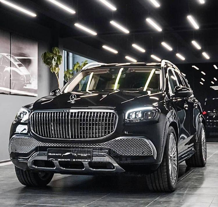 New Mercedes-Benz GLS-Class 2021 Black