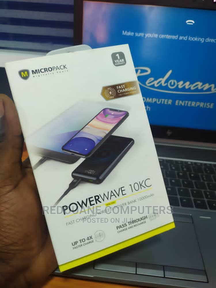 Micropack 10,000mah Wireless Powerbank