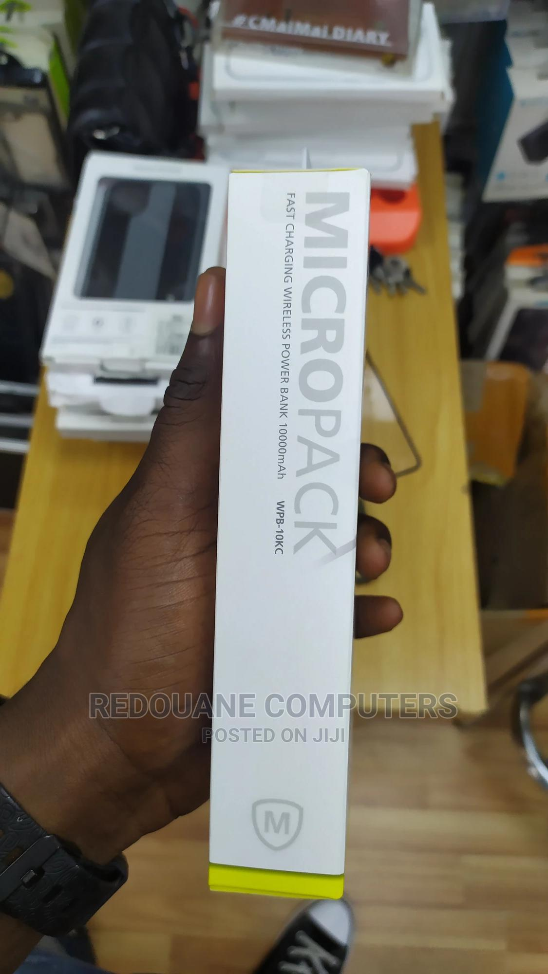 Micropack 10,000mah Wireless Powerbank | Accessories for Mobile Phones & Tablets for sale in Ikeja, Lagos State, Nigeria