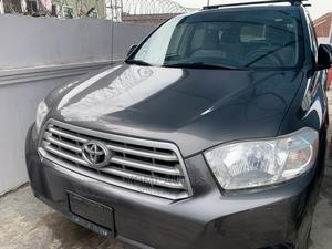 Toyota Highlander 2008 Gray | Cars for sale in Lagos State, Surulere