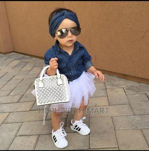 Denim Top With White Tutu Skirt | Children's Clothing for sale in Oyo State, Ibadan