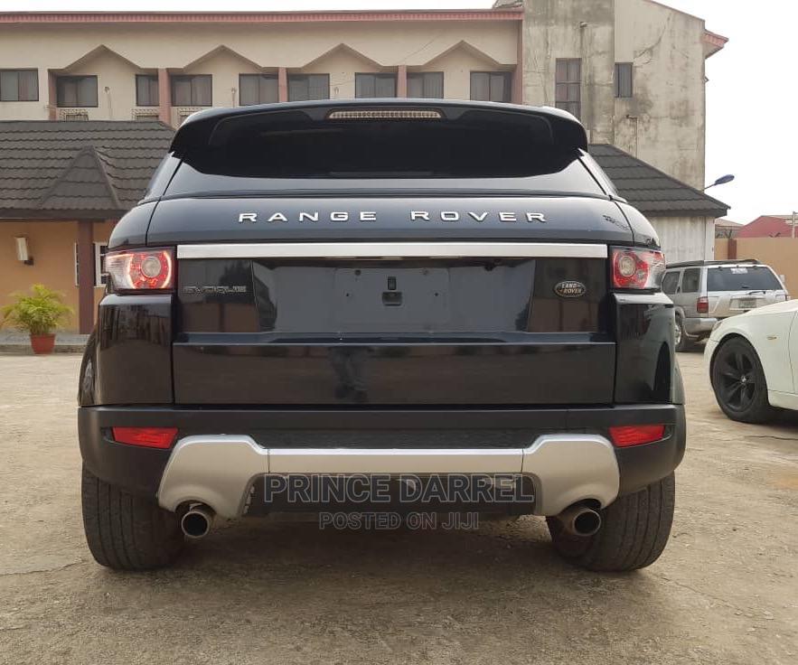 Land Rover Range Rover Evoque 2013 Pure Plus AWD Black | Cars for sale in Ikotun/Igando, Lagos State, Nigeria