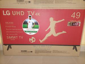 Original LG Uhd Smart TV 49 inchs   TV & DVD Equipment for sale in Ogun State, Ado-Odo/Ota