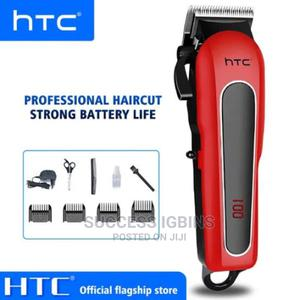 HTC Professional Cordless Hair Clipper Ct-8089 | Tools & Accessories for sale in Lagos State, Agege